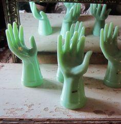 Green Glass Hands