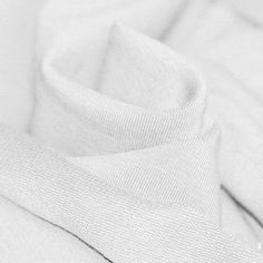 Tissu Sweat Blanc