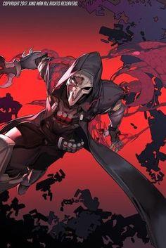Reaper Overwatch Art