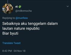 New memes indonesia bacot ideas Tumblr Quotes, Text Quotes, Jokes Quotes, Mood Quotes, Funny Quotes, Life Quotes, Funny Memes, Twitter Quotes, Instagram Quotes