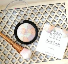 Laura Geller Filter Finish Baked Radiant Setting Powder Review