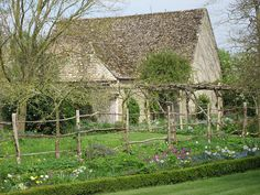 Backyard at Kelmscott Manor