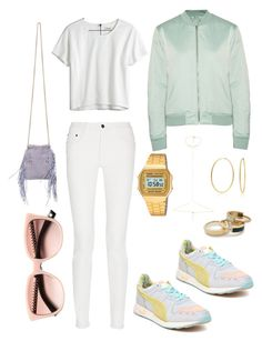 #9 by nicopumacat on Polyvore featuring polyvore, fashion, style, Madewell, T By Alexander Wang, Proenza Schouler, Puma, Jérôme Dreyfuss, Maria Black, Casio, J.Crew, Bling Jewelry and Christian Dior