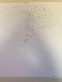 Color wheel mandala WIP 3/16/18