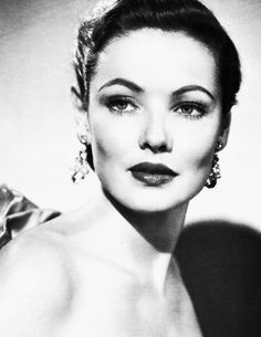 I loooove photos of Gene Tierney.
