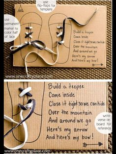 How to tie shoes - posted October 17, 2014 by Creatabilities on Facebook - not my original work