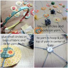 The Botts-Net: DIY Baby Mobile *could make a nice gift for someone*