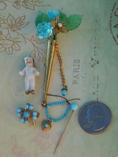 "SOLD Great accessories for 15""+ French fashion. Now available in my Ruby Lane store: Kim's Doll Gems"
