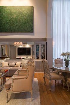 Apartamento tem união do clássico com o moderno – Revista Habitare