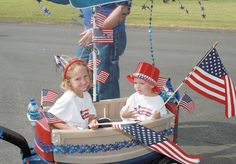 4th of july parade - pull wagon - Google Search