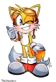 tails color commission by TheChaosSpirit on DeviantArt Sonic The Hedgehog, Silver The Hedgehog, Shadow The Hedgehog, Sonic Adventure, Sonic Boom Tails, Flowey Undertale, Sonic Funny, Sonic Franchise, Sonic Heroes
