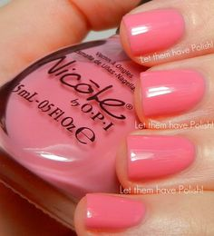 Don't Over Pink Itis a really pretty, light Bubblegum Pink