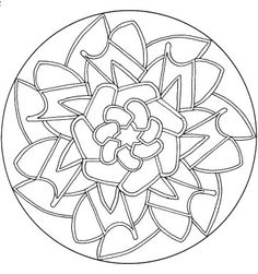 mandala coloring sheets, the only way to calm my racing mind.