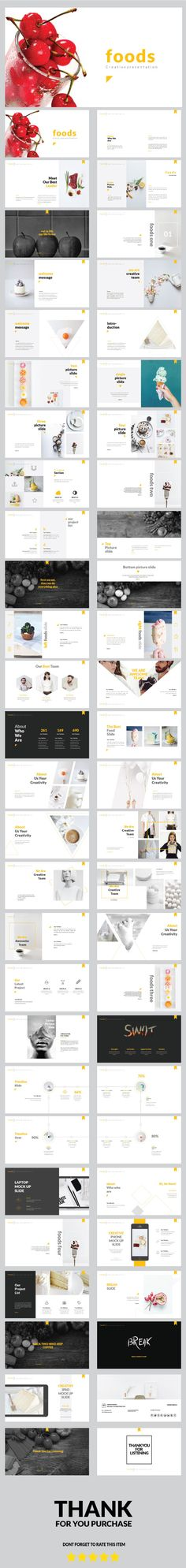 Foods - Creative Multipurpose Powerpoint Template