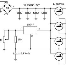 15 Ampere Adjustable Power Supply in 2019 Electronics Basics, Electronics Components, Electronics Projects, Dc Circuit, Circuit Diagram, Electrical Projects, Electrical Engineering, Electrical Wiring, Battery Charger Circuit