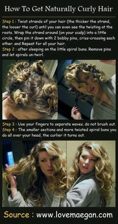 Sexy hair, natural curly hair how to