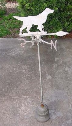 dog weather vane
