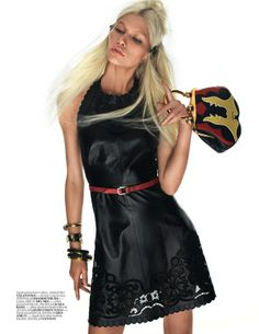 Алина Вебер в Vogue Turkey (трафик) / Обзор журналов и фотосессий /