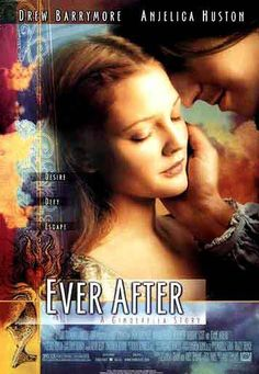 Ever After - the story behind the famed fairy tale, Cinderella. I love this movie because it shows how fairy tales can indeed come true.:)