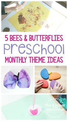You can put together a truly creative Bees Stem Projects For Kids, Diy Crafts For Kids Easy, Diy Craft Projects, Craft Tutorials, Preschool Monthly Themes, Preschool Crafts, Sensory Activities Toddlers, Kids Learning Activities, Science For Kids