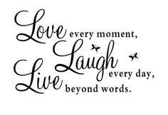 Live Laugh Love wall art decor