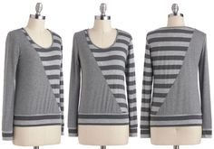 ModCloth Seeing Stripes Top