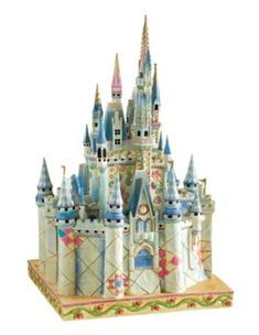 Your WDW Store - Disney Jim Shore Figure - Cinderella Castle of Dreams Deco Disney, Disney Love, Disney Magic, Disney Art, Disney Pixar, Walt Disney, Disney Stuff, Disney Characters, Disney Figurines