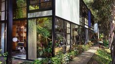 The Eames House (also known as Case Study House)