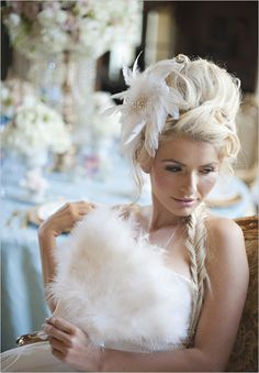 Ideas For a Cinderella Themed Wedding Wedding Hair Style