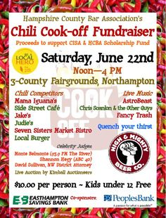 chili cook off fundraiser - Google Search