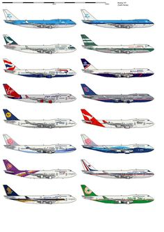 This is my drawing of Boeing 747 in several airlines in shipbucket scale. If you want a specific airline, just PM me BOEING 747 AIRLINES 1 Pacific Airlines, Best Airlines, Boeing 747 400, Boeing Aircraft, 747 Airplane, Boeing Planes, Aviation Accidents, Airline Logo, Airplane Photography