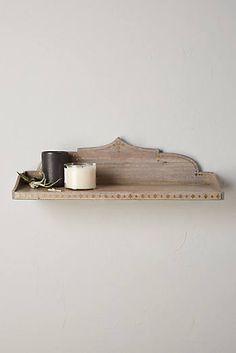 Kamaia Shelf  SOME LARGER VERSION OF THIS ON WALL NEAR BATHTUB?