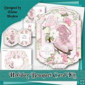 Holiday Bouquet Card Kit