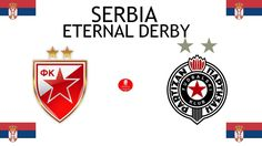 1947, Serbia (1st ETERNAL DERBY), Red Star Belgrade < > FK Partizan #RedStarBelgrade #FKPartizan #Serbia (L7560) Red Star Belgrade, Football Match, Derby, Stars, Sterne, Star
