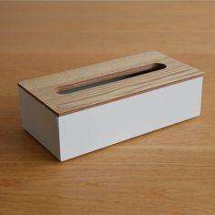 【4月上旬入荷予約販売】Alumi/tamo  ティッシュケース white | greeniche