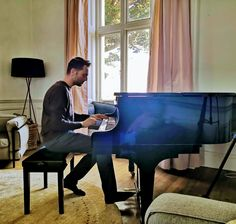 The Grand Piano. #Life❤️LissArd Grand Piano, Contemporary, Modern, Countryside, Mansions, Luxury, Building, Room, House