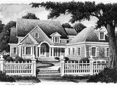 Farmhouse House Plan with 4245 Square Feet and 4 Bedrooms(s) from Dream Home Source | House Plan Code DHSW56052