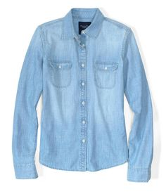 American Eagle Chambray shirt $40