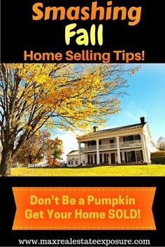 See the best home selling tips for all seasons. Whether you are selling your home in the fall, winter, spring or summer, see the best home selling advice! Real Estate Articles, Real Estate Information, Real Estate Tips, Selling Real Estate, Selling Home By Owner, Selling Your House, Sell House, Online Mortgage, Mortgage Tips