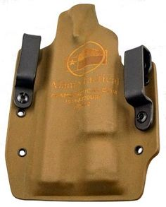 ***Due to a high demand, certain models may have a longer shipping time***  Alamo Tactical Travis Custom Kydex Holster is designed for easy access and a fast draw of the pistol. The Travis is identical to a Crockett, but designed for handguns with either a light/laser or a threaded barrel. When ordering, simply list your flashlight/laser in the notes section at checkout.     Just like all of our Holsters, if you would like a custom variation (color, camo, light/laser, etc.) tha...