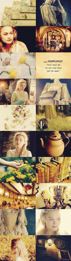 Sophia Myles as Helga Hufflepuff Hogwarts Founders fancast