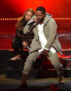"""beyoncefashionstyle: """"Beyonce X Kendrick Lamar - BET Awards """" Rapper Kendrick Lamar, Bet Awards, Kung Fu Kenny, Hip Hop And R&b, Beyonce And Jay Z, American Rappers, My Black Is Beautiful, Beautiful People, Musica"""