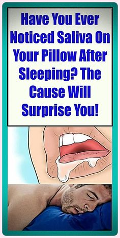 Have You Ever Noticed Saliva On Your Pillow After Sleeping? The Cause Will Surprise You! Health And Fitness Articles, Daily Health Tips, Health Goals, Health Fitness, Fitness Facts, Health Matters, Health Advice, Womens Health Care, Healthy Tips
