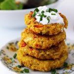 Cauliflower Chickpea Patties - Dora's Daily Dish