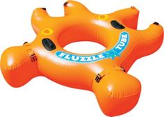 The Fluzzle Tube is perfect for tubing down the river, in the lake or in the pool.