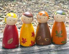 Friend Birthday Gifts, Best Friend Gifts, Gifts For Friends, Wood Peg Dolls, Clothespin Dolls, Christmas Fairy, Christmas Child, Non Toxic Paint, Winter Flowers