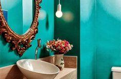 Como decorar o banheiro gastando pouco