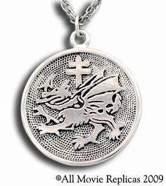 Vlad Dracula's Order of the Dragon Pendant