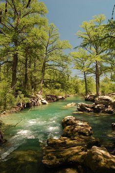 Río de las Sabinas, en Múzquiz, Coahuila, Mexico