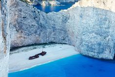 7. Shipwreck Bay - 10 Most Beautiful Beaches in Greece #Travel